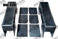 "Chevrolet Silverado / GMC Sierra 1988-1998 4"" Under Bed Frame C-Notch"