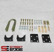 "Chevrolet C1500 Silverado 1988-1998 Street Edge Rear 6"" Drop Axle Flip Kit"