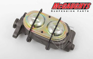 "Pontiac Firebird 1967-1969 Non-Power 1"" Bore Master Cylinder; Dual Resovoir - McGaughys Part# 63203"
