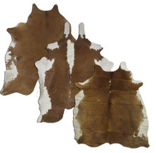 Full Brown and White Cowhide 5065 - Western Decor