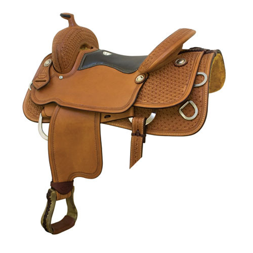 Mesquite Trainer Saddle by Billy Cook Saddlery 16 5in  29114065