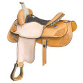 Connie Combs All Around Saddle by Saddlesmith 14, 15in. 291-529