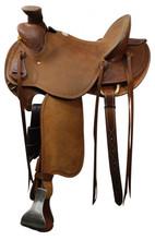 Showman Roping Saddle 51216 - Western Saddle