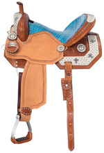 Silver Royal Desert Hope Barrel Racing Saddle