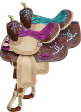 Double T Barrel Racing Saddle 5114