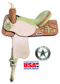 American Saddlery Barrel Racing Saddle 845C