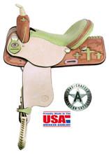 American Saddlery Barrel Racing Saddle 845C