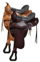 Double T Gaited Saddle 94003 Western Horse Saddle