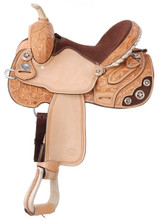 Lamar All Around Barrel Saddle by Silver Royal SR211.  Western Horse Saddle.
