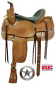 Cumberland Trail Saddle by American Saddlery 1386 - Western Horse Saddle
