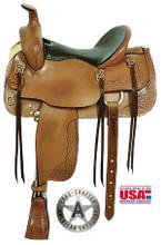 Cumberland Trail Saddle by American Saddlery 1386 - Western Horse Saddle