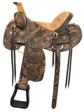 American Saddlery Mossy Oak Camo Hunter - Horse Saddles - Trail Saddle
