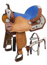 Double T Barrel Saddle Set 460 - Western Horse Saddles