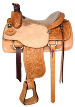 Circle S Roping Saddle 6398 - Western Horse Saddle - Roper