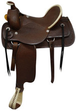 Circle S Roping Saddle Medium 1902 - Western Horse Saddle