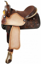Double T Barrel Racing Saddle 1501 - Western Horse saddle