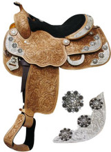 Double T Show Saddle 653716 - Western Saddle