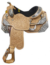 Showman Show Saddle 6602 - Western Saddles