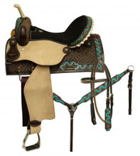 Circle S Barrel Racing Saddle 6654 - Western Saddles