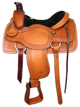 Showman Roping Saddle 639916 - Western Saddle
