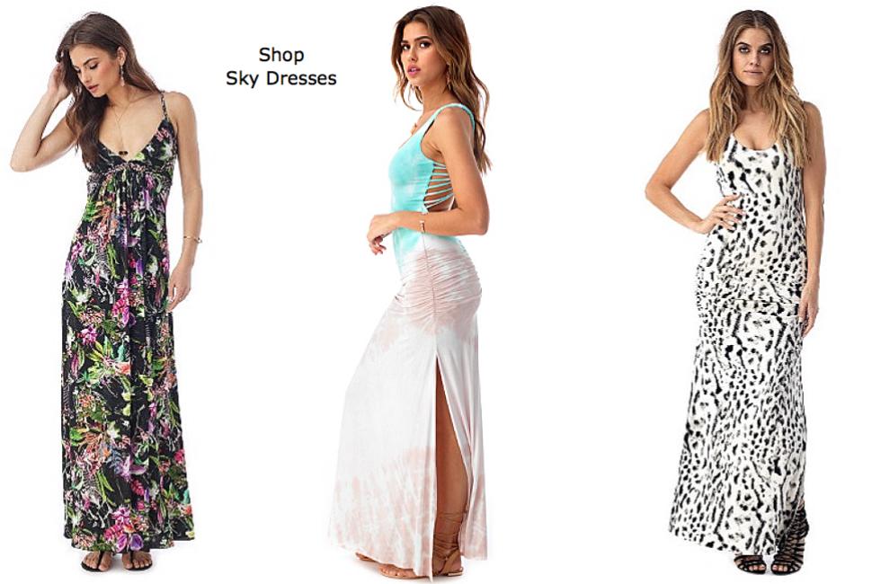Sky Dresses