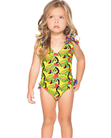 Agua Bendita Kids Bendito Garza One Piece Swimsuit