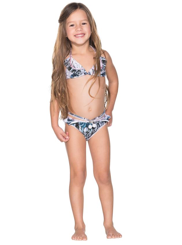 59b62e0d57f36 Agua Bendita Kids Bendito Wolf Bikini Set. See 1 more picture