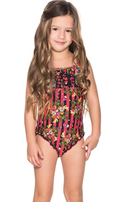 Agua Bendita Kids Bendito Tamarindo One Piece Swimsuit
