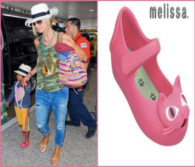 Mini Melissa Shoes Mini Ultragirl Cat Lilac