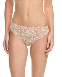 Commando Double Take Thong Ivory