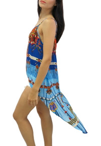 Parides Navajo Cami Hi-Low Top Blue