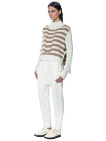 Mara Hoffman Knit Turtleneck Stone