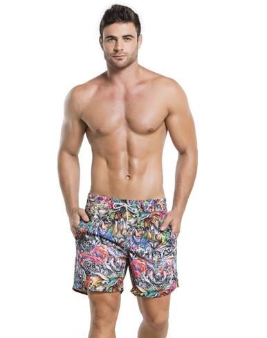 2016 Agua Bendita Men Bendito Especie Swim Short