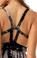 Sky Tania Maxi Dress Tie Dye Black