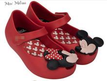 2016 Mini Melissa Shoes Mini Ultragirl Disney Twins Red