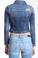 Mavi Meryl Dark Denim Jacket Ripped Vintage