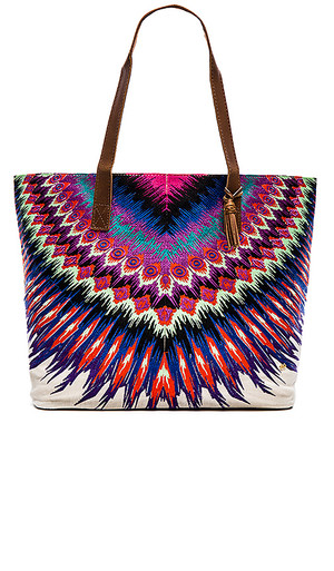 PilyQ African Rays Big Tote