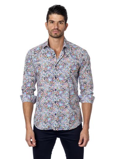 Jared Lang Button Down Shirt Tom 131 Butterflies