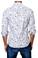 Jared Lang Button Down Shirt C-06 White Cars