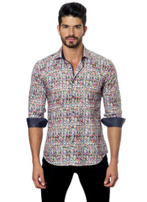 Jared Lang Button Down Shirt C-05 Print