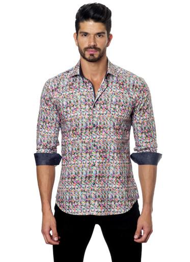Jared Lang Button Down Shirt C-05 Print