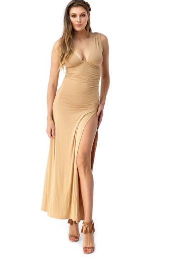 Sky Monifa Maxi Dress Honey