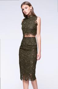 Stylestalker Thalia Skirt Olive