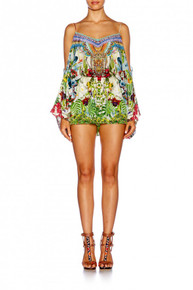 Camilla Exotic Hypnotic Drop Shoulder Playsuit