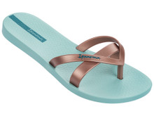 2017 Ipanema Kirei Flip Flop Mint with Rose Gold