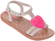 2017 My First Ipanema Baby Ankle Strap Sandal Brown Pink