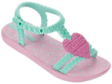 2017 My First Ipanema Baby Ankle Strap Sandal Pink and Mint