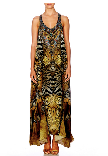 Camilla Given To The Wild Vneck Racer Back Dress
