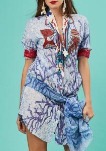 Antica Sartoria S718 Shirt Dress