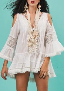 Antica Sartoria A005 Dress White